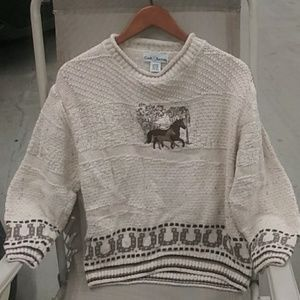 Horse lovers sweater M